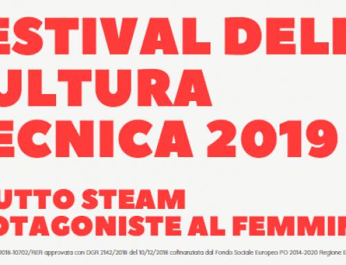 """""""A TUTTO STEAM  PROTAGONISTE AL FEMMINILE"""" – Mercoledì 4 dicembre 2019 presso il CENTEC"""