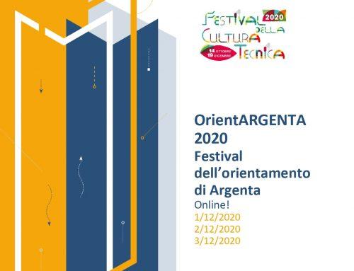 FESTIVAL DELL'ORIENTAMENTO DI ARGENTA – 1/2/3 DICEMBRE 2020 – LABORATORI E TESTIMONIANZE
